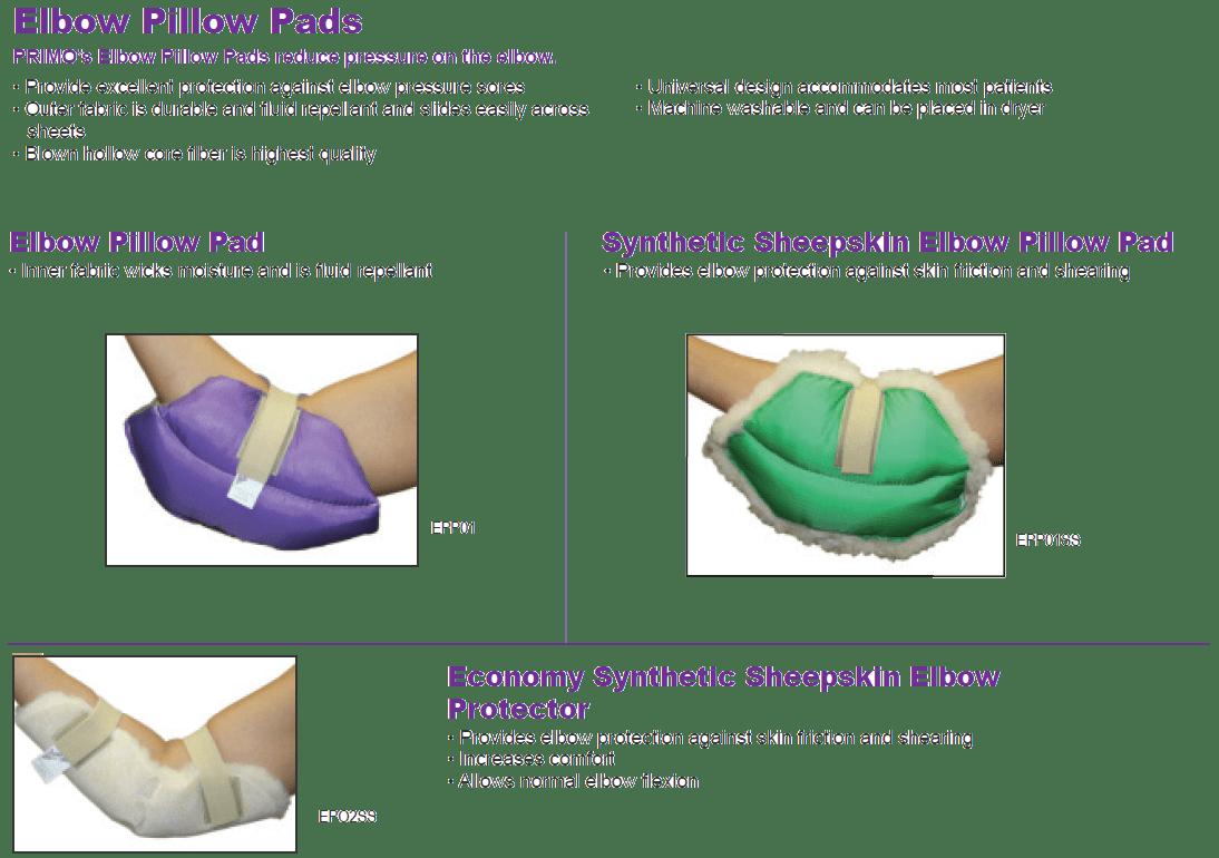Elbow Pillow Pads
