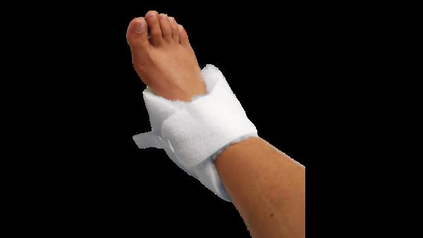 Sheepskin and heel protector image