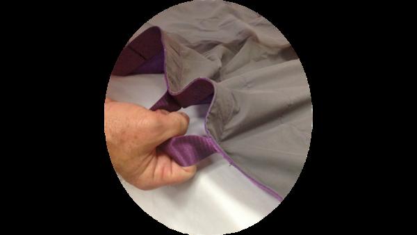 Sheet grip handle